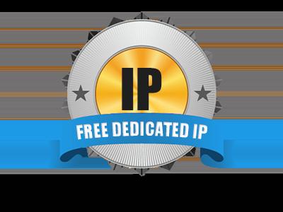 Free Dedicated IP Address